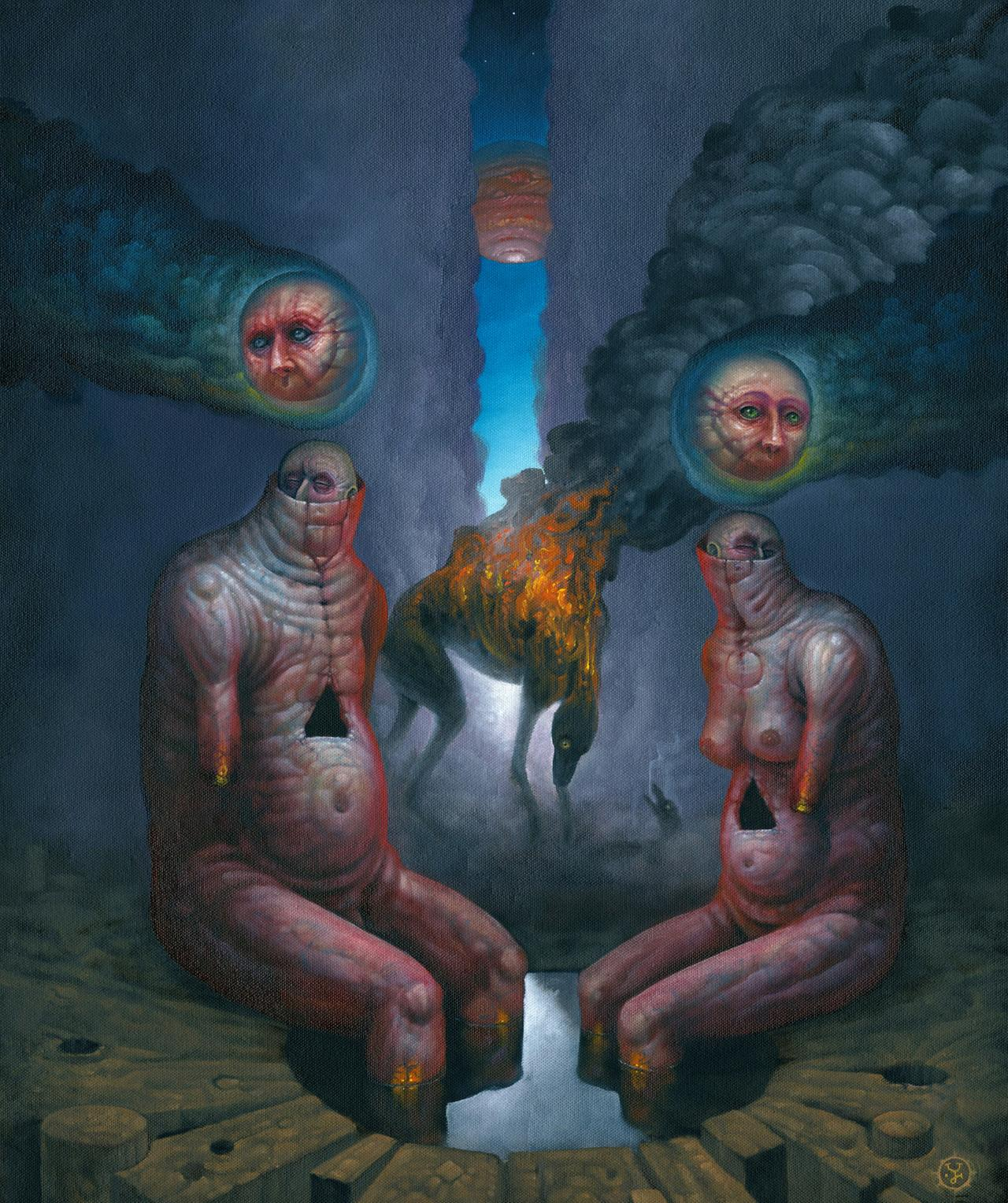 Surrealist Jeff Christensen challenges you to think for yourself
