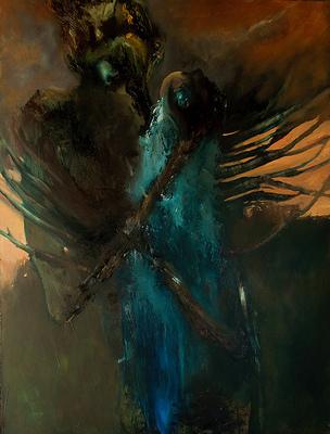 Painter Jody Fallon explains why great art balances love, darkness