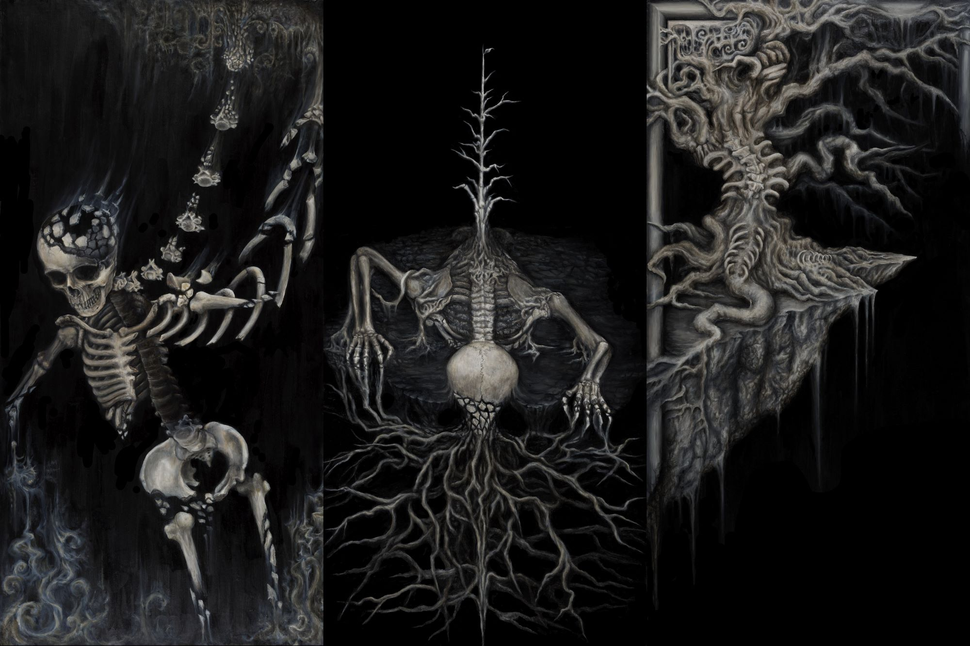 Multi-disciplinary dark artist Corviid talks about ritual and transformation during the pandemic